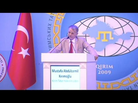 Hundreds of Crimean Tatar groups gather for world congress in Ankara