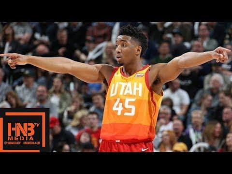 Minnesota Timberwolves vs Utah Jazz Full Game Highlights / March 2 / 2017-18 NBA Season