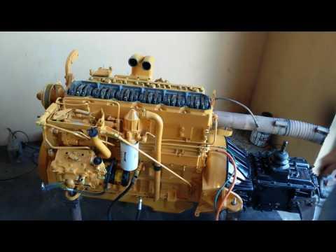 Teste Motor Caterpillar 3116