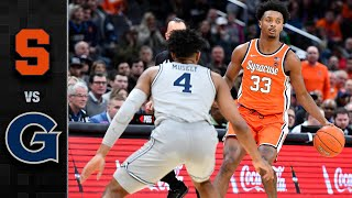 Syracuse vs. Georgetown Men's Basketball Highlights (2019-20)