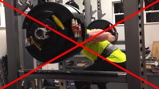 Fixing The Good Morning Squat (Excessive Forward Lean)