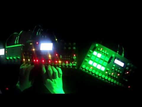 MKDSL VS Uža Live @Zaječar (Psychedelic Electro Rock House)