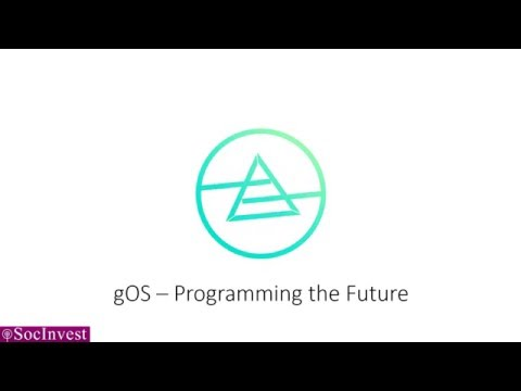 gOS - Programming the Future