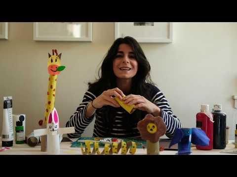 Animal Crafts with Maryam joon!