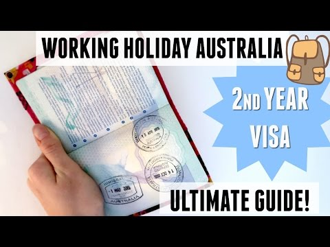 GET YOUR 2ND YEAR VISA|WHV AUSTRALIA