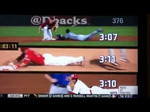 Speed Test: Mike Trout Vs Billy Hamilton & Dee Gordon