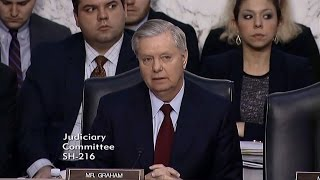 Graham's 2nd Round of Questions During Supreme Court Nomination Hearing