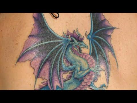 Diseños De Tatuajes De Dragones Y Su Significado Youtube