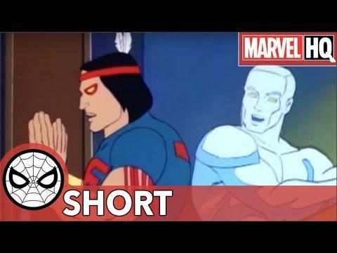 Kitty Pryde Trolls The XMen!  Marvel MashUps: SpiderMan & Amazing Friends  XMen Pt 2