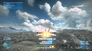 Part-1 Battlefield 3 (BF3) jet Advanced Dogfight tactics by DigiTally (2012)