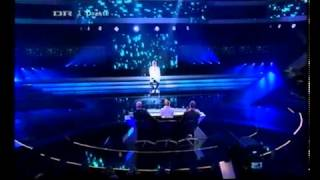 X Factor Denmark - Martin Goodbye my lover 2010