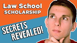 How to get a scholarship! (Pro Tip: Law School Edition)