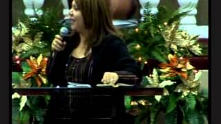 Un mensaje de la Pastora Johanna Flores