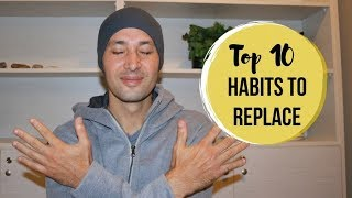 Top 10 Habits Anxiety Sufferers MUST Stop Now