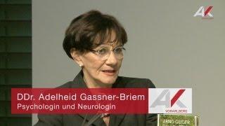 Adelheid Gassner-Briem: Demenz -- Die Krankheit des Jahrhunderts