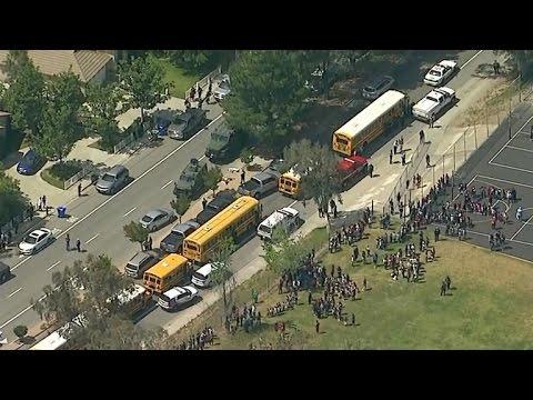 Search for motive in San Bernardino school shooting