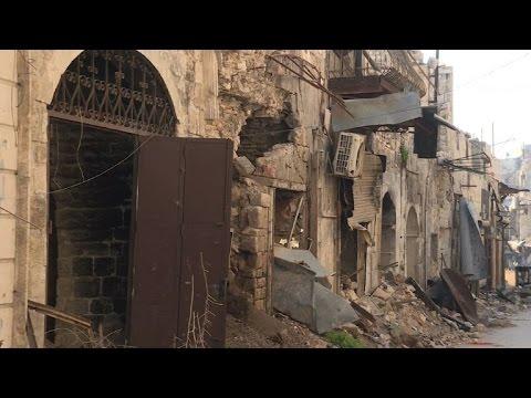 قصف جديد على شرق حلب بالتزامن مع اجتماعات دولية لانقاذ المدينة