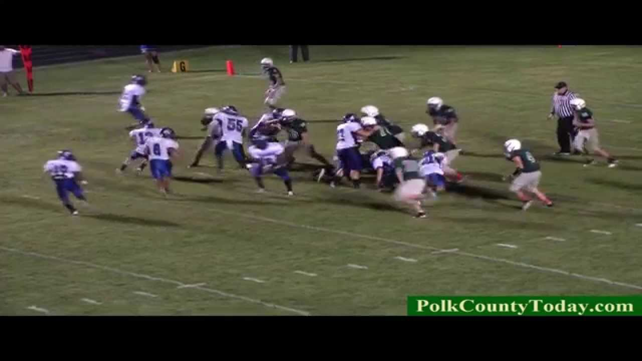 Corrigan Bulldogs Shuts Out Hemphill Hornets 52 to 0. 10/17/14