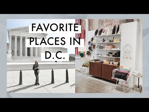 Favorite Places in Washington D.C. | Shops, Coffee, Food, & More