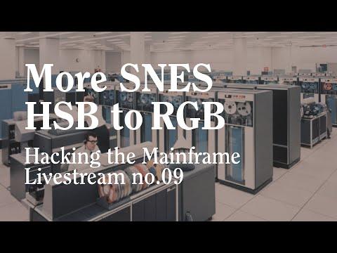 Hacking the Mainframe no.09 (SNES Color Algorithm)