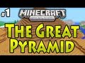 """Minecraft (Xbox 360) - """"THE GREAT PYRAMID"""" - Part 1 - (Adventure Map Co-Op)"""