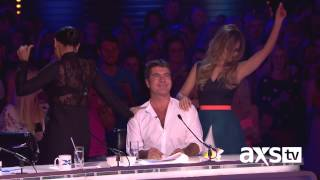 cheryl and mel b do a little dancing the x factor uk on axs tv