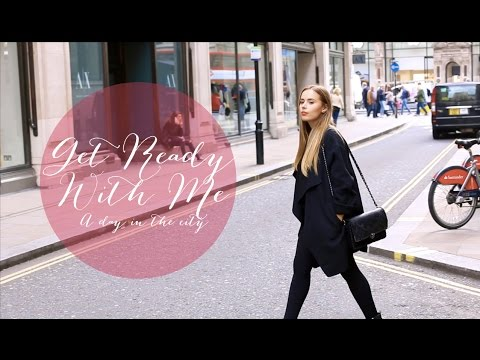 Get Ready With Me: A Day In The City - London | Hello October