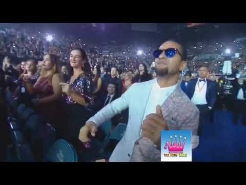 Latin Grammys 2017 J Balvin Bad Bunny Steve Aoki