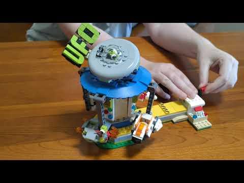 Alpal Lego Adventures - The Alien Merry-Go-Round