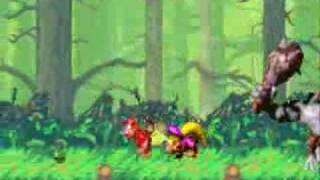 Donkey Kong Country 2 (GBA) All Bosses Part 1