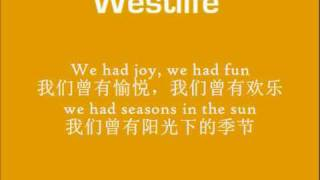 Seasons in the Sun《阳光下的季节》(with lyrics and Chinese translation)