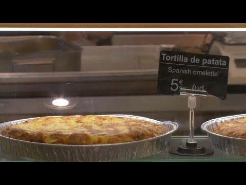 euronews (en español): La tortilla esquiva al parón de actividad en España
