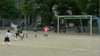 東源台FC 2011 U10安東小学校 練習試合 VS 六合東 前半
