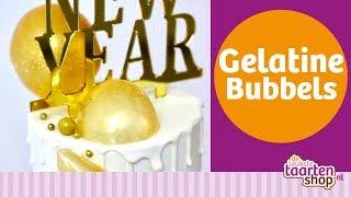 Deleukstetaartenshop meets Maria Sweet Cakery: Gelatine Bubbels