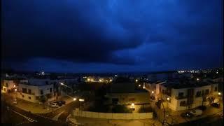 Tempestade Ana chega a Sines Portugal