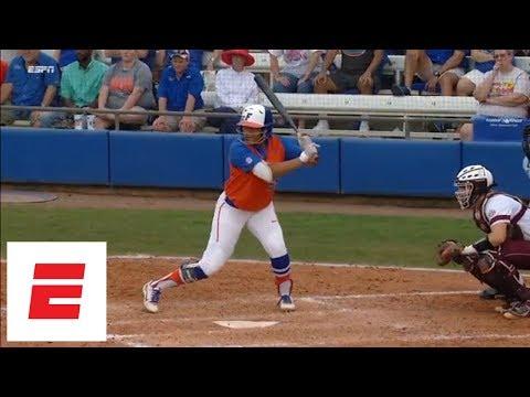 Florida advances to Women's College World Series after Jordan Matthews' walk-off home run | ESPN
