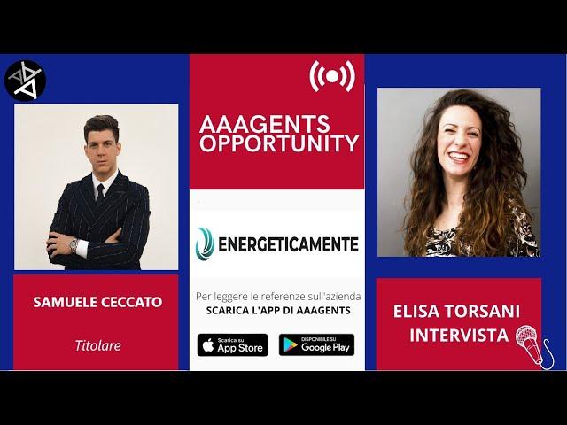 ENERGETICAMENTE cerca Venditori: intervista a Samuele Ceccato, titolare