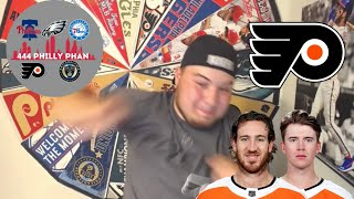 PHILADELPHIA FLYERS: Flyers MOVE ON and WIN 3-2!  Kevin Hayes SCORES, Carter Hart AMAZING again!