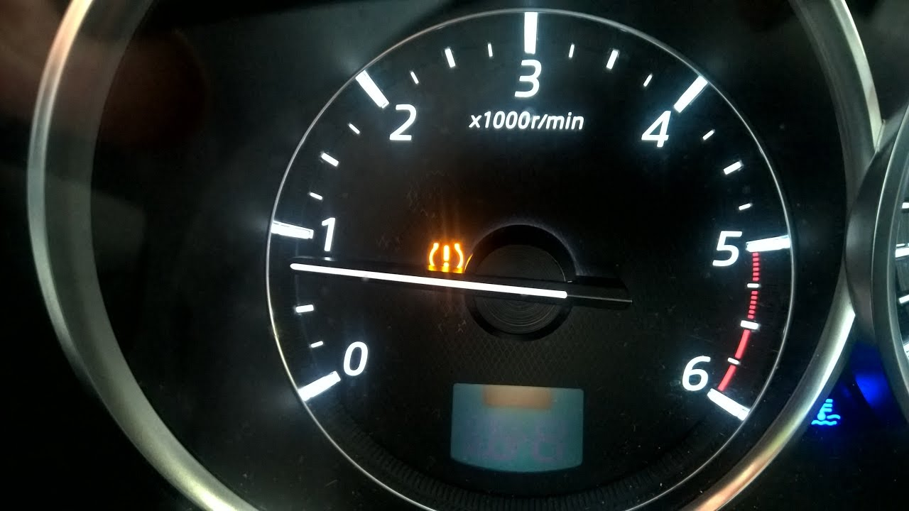 How To Reset The Tyre Pressure Warning Light TPMS In A Mazda 6 2014 2018
