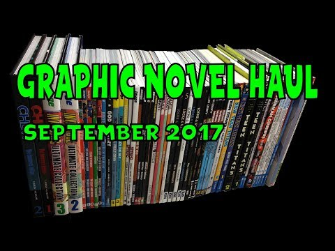 Graphic Novel Haul September 2017