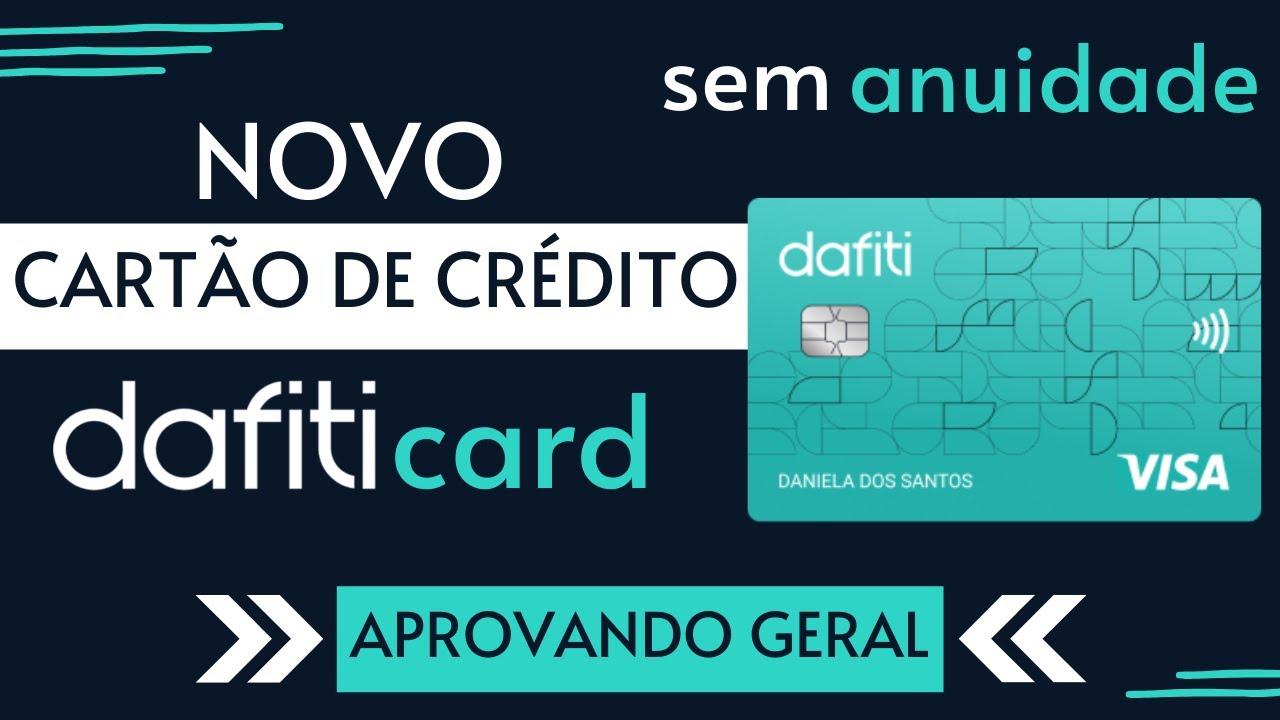 Novo Cartão de Crédito Dafiti Card VISA | Aprovando Geral!
