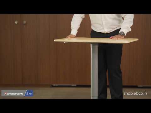 Smart Lift Single Leg-Gas Lift Centre Pole | Height-Adjustable Table Legs