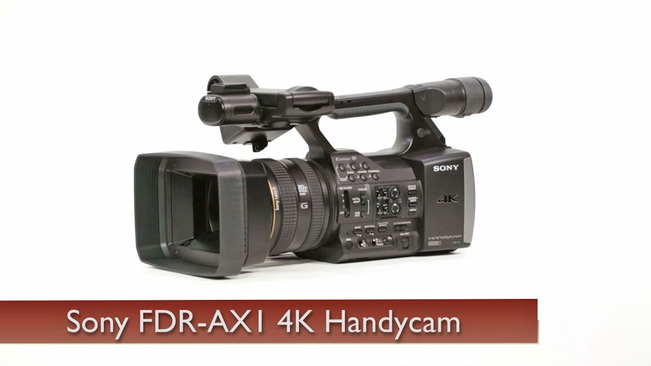 SONY FDR-AX1 CAMCORDER DRIVERS FOR WINDOWS XP
