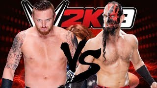 WWE 2K19 Matches Heath Slater vs Viktor