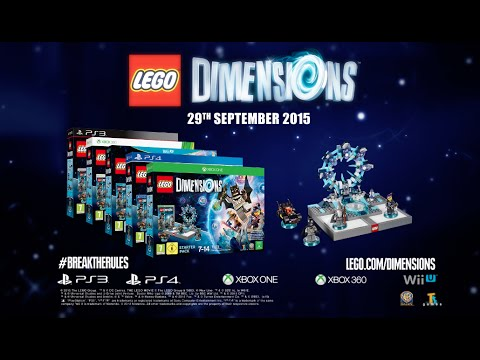 lego dimensions ps4 ps3 39 unexpected worlds collide. Black Bedroom Furniture Sets. Home Design Ideas