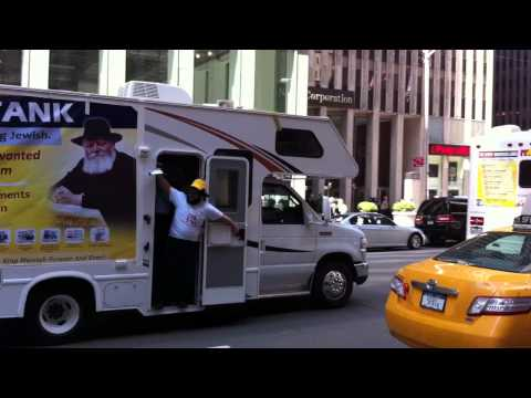 Passover Mitzvah Tanks take 6th Avenue NYC (Part 2 of 2)