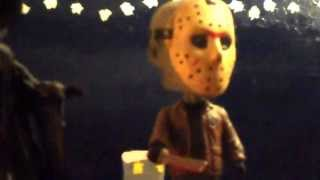 scream and jason bobblehead collection