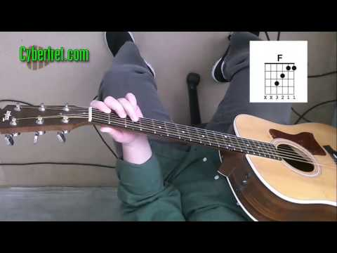 Help With a Basic F Chord - Guitar Lesson