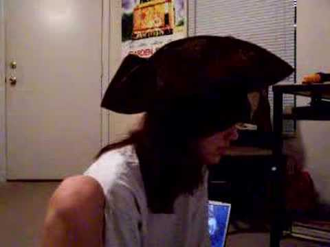 Isolation cover wearing a Pirate Hat (John Lennon)