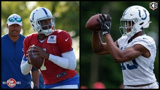 Colts Camp Day 7: Brissett Looks Sharp, E.J. Speed with 1st Team, Andrew Luck Update